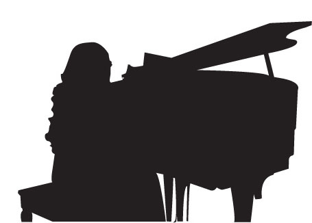 Girl Playing Piano Silhouette Piano jpgPlaying Piano Silhouette